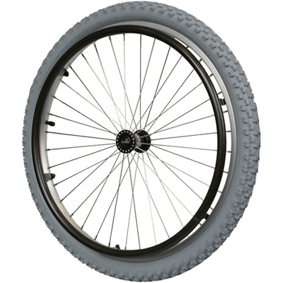 "PACKAGE DEAL - 24"" Off Road Wheels with Tires and Hand Rims"